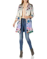 Johnny Was - Floral Printed Silk Blazer - Lyst