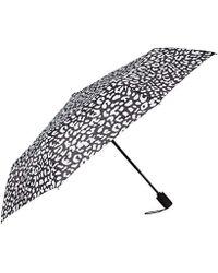 Nicole Miller Automatic Super Mini Umbrella-850nm-wild - Black