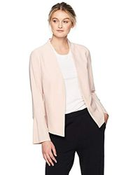 Adrianna Papell - Knit Jacket With Bell Sleeve - Lyst