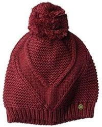 Roxy Lovers Soul Beanie Hats - Red