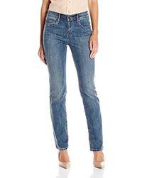 ee29051f Levi's 712 Slim Jeans in Black - Lyst