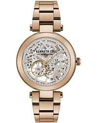 Kenneth Cole - Female Quartz Watch With Stainless Steel Strap, Rose Gold, 18 (model: Kc50799002 - Lyst
