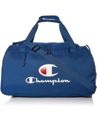 Champion Unisex Adult Duffel Bags - Blue