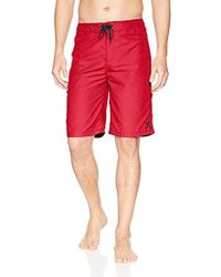 """Hurley One And Only Supersuede 22"""" Boardshort - Red"""