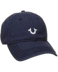 True Religion - Core Logo Baseball Cap, - Lyst