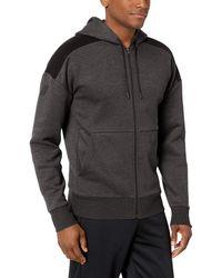 Peak Velocity Medium-weight Fleece Full-zip Loose-fit - Gray