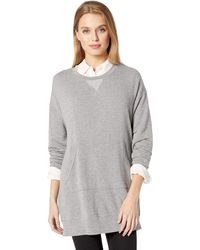Splendid - Dream Slub Courtside Sweatshirt Dress - Lyst