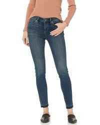 Vince Camuto Released Hem Five Pocket Skinny Jean - Blue