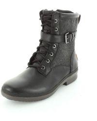 UGG Womens Kesey Black Winter Boot - 6