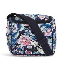 Vera Bradley Signature Cotton Stay Cooler Lunch Bag - Blue