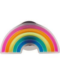 Crocs™ 's Translucent Rainbow Shoe Charms - Multicolor