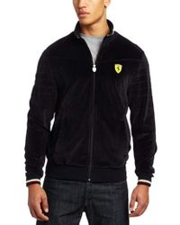 24b183e1a442 Lyst - PUMA Lifestyle Quilted Bomber Jacket in Black for Men