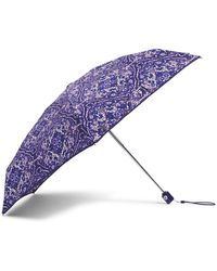Vera Bradley Mini Travel Umbrella - Purple
