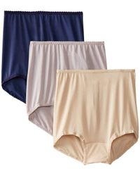 82a4e6479be Lyst - Bali Skimp Skamp Brief Panty Number 2633 (pack Of 3) in ...