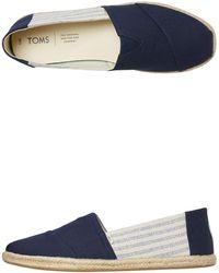 TOMS Alpargata Loafer - Blue