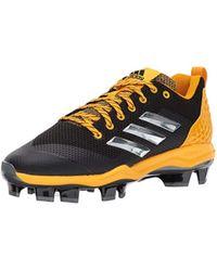 super popular 678b8 dde25 adidas - Freak X Carbon Mid Baseball Shoe, Core Black, Silver Met,  Collegiate