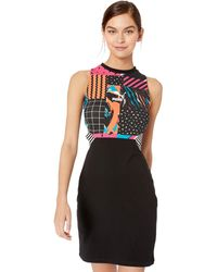 PUMA Clash All Over Print Dress - Nero