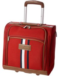 Tommy Hilfiger Winston Rolling Tote - Red