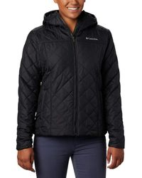 Columbia Plus Size Copper Crest Hooded Jacket - Black