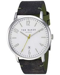 Ted Baker - 'daniel' Quartz Stainless Steel Casual Watch - Lyst