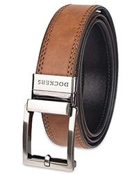 Wide Perfect Fit Adjustable Click To Fit Belt Dockers Mens 1.3 in