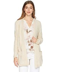 Lucky Brand - Patterned Cardigan Sweater - Lyst