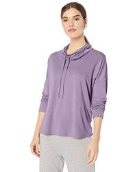 N Natori - French Terry Knit Pullover - Lyst
