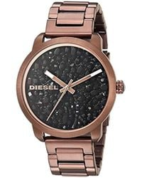 DIESEL - Quartz Stainless Steel Casual Watch, Color:brown (model: Dz5560) - Lyst
