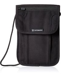 Victorinox Deluxe Concealed Security Pouch With Rfid Protection - Black