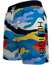 "Tommy Hilfiger 7"" Swim Trunks - Blue"