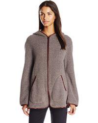 Clover Canyon Sportswear Polar Fleece Jacket - Purple