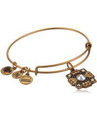 ALEX AND ANI - Bride Charm Bangle - Lyst