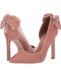 c181c8d0815c Lyst - Ivanka Trump  brita  Ankle Strap Pointy Toe Pump in Pink