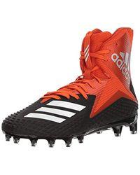 9781f5e3e3ffc adidas Freak X Carbon Mid Football Shoe, Core Black/white/collegiate ...