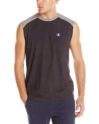 Champion - Double Dry Cotton Muscle T-shirt - Lyst