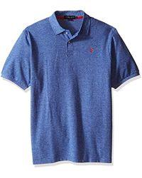 U.S. POLO ASSN. - Big & Tall Twisted-yarn Polo Shirt - Lyst