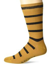 Nudie Jeans Olsson Tiger Stripes - Yellow
