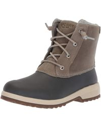 Sperry Top-Sider S Maritime Repel Boots - Gray