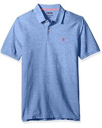 Izod - Clearance Advantage Performance Solid Polo Shirt - Lyst