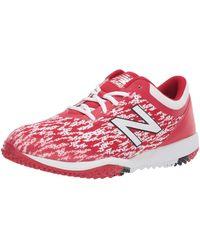 New Balance 4040v5 Turf Running Shoe - Rosso