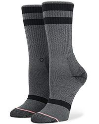 Stance Uncommon Classic Crew Socks Lilac Ice