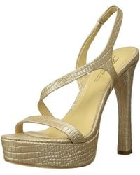 Imagine Vince Camuto Prent Heeled Sandal - Natural