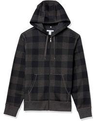 Amazon Essentials Full-Zip Hooded Fleece Sweatshirt Fashion-Hoodies - Multicolore