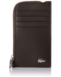 Lacoste - Zip Credit Card Holder - Lyst