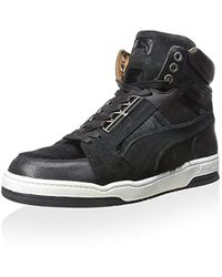 Lyst - PUMA X Alexander Mcqueen Joust Iv Midtop Sneaker in Brown for Men e8a448e5a