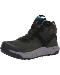 Under Armour Micro G Valsetz Mid Lwp Hiking Boot - Nero