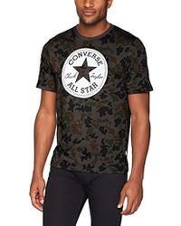 2f6e01e23402 Lyst - Converse  chuck Taylor All-star Ii  Graphic Crewneck T-shirt ...
