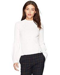 Guess - Long Sleeve Rn Brenda Sweater - Lyst