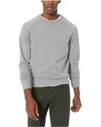 Goodthreads - Crewneck Fleece Sweatshirt - Lyst