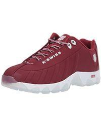 K-swiss St329 Cmf Sb Sneaker - Red